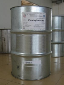 China Aroma Chemicals Fenchyl acetate on sale