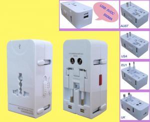 China Universal Travel Plugs Adaptor Universal travel adaptor(USB) on sale