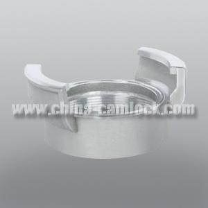 China Aluminium Guillemin Couplings Aluminum Coupling Female Without Latch on sale