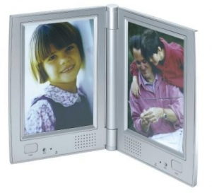 China Two Sided Talking Picture Frame with Dual Recording on sale
