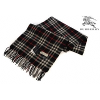 Burberry Cashmere Scarf Black/Red/White