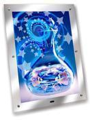 China crystal magic mirror light box on sale