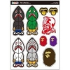 China Instyles Instant Decorative Sticer/Decal Small -- Bape Camo for sale