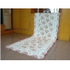 China Shabby and vintage Rose Long QuiltedFloor runner/rug for sale