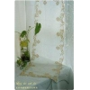 China Gorgeous Golden Roses Sheer Table Runner for sale