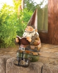 Book Smart Gnome Figurine