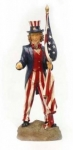 Uncle Sam Yard Figurine