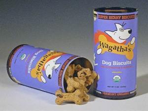China Wagatha's Organic Super Berry Dog Biscuits Wheat Free 9 oz on sale
