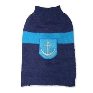 China Navy Dog Sweater on sale