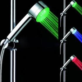 China Color Changing LED Hand Shower - Chrome Finish on sale