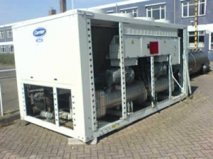 China USED AIR COOLED CHILLER CARRIER 30GX152 on sale