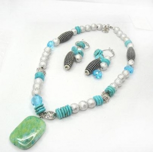 China Semi-precious Stone Jewelry TNS-090190 on sale