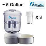 China Aqua Tal Pets Dogs Water Filter Dispenser Jug AT3263 on sale