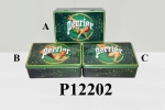 Perrier 20.2cm x 13.2cm x 6.7cm Rectangle Tin Box