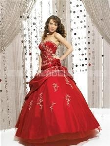 China Fashion Sleeveless Ball Gown Quinceanera Dress on sale