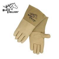 CushionCore Quality Grain Pigskin Stick Welding Gloves