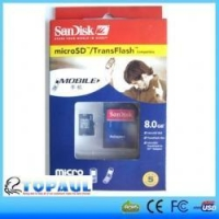 Sandisk Micro SD Card (simple old packing)