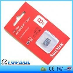 China Sandisk Micro SD Card (simple new packing) on sale