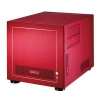 China Lian Li PC-V352R Red Mini ITX Case No PSU on sale