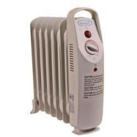 NewAir AH-410 Oil Filled Radiator Space Heater With Thermal Cut-Off