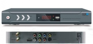 China ISDB-T Products HD ISDB-T Set-top Box MPEG4,H.264 on sale