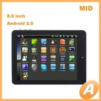 8.0 inch Google Android 2.0 Tablet Ultra-thin Screen MID & E-Book Reader