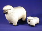 Gifts Sheeps in ceramics