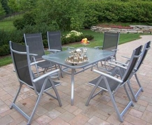 China Stainless Steel Sling Outdoor Furniture on sale