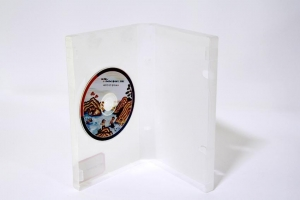 China 14mm DVD Case Single Semi-Clear(Polished Finish) on sale