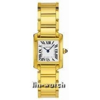 Cartier Tank Francaise 18kt Yellow Gold Ladies Watch W50002N2
