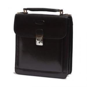 China Hansson A5 Colorado Leather Mini Briefcase on sale
