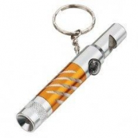 China METAL Material printed LED Torch Keychain / Flash Light Key chain for Promotional gifts on sale
