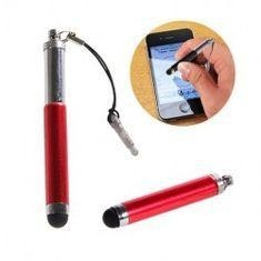 China Retractable Touch Screen Pen Stylus for Iphone with Lanyard for 3.5MM Earphone Jack on sale