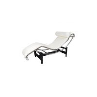 China Le Corbusier Chaise Style LC4 Lounge Chair, Aniline Leather on sale