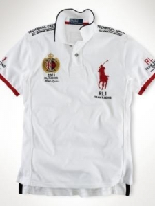 China Polo Ralph Lauren t-shirts man Home Polo Ralph Lauren racing t-shirts ms-2068-009 on sale