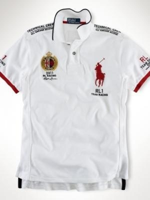 China Polo Ralph Lauren t-shirts man Home Polo Ralph Lauren racing t-shirts ms-2068-009