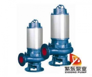 China JYWQ Auto-homogenizing Submerged Sewage Pump on sale