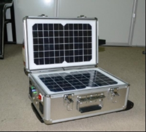 China Portable Solar Systems 40w portable solar power system kits(SG-SPC40WA) on sale