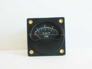 China 2 1/4 inch Aircraft Cylinder Head Temperature Gauge / Dual CHT GuagesC2-37C on sale