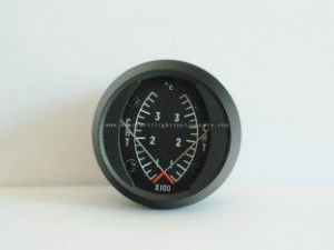"""China 2"""" Airplane Temp Dual CHT Cylinder Head Temperature Gauge DC1-37C on sale"""