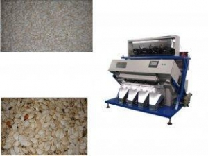 China CE Certified 3.0 - 4.5 Handling Capacity Seed Color Sorter Machine For Pumkin seeds on sale