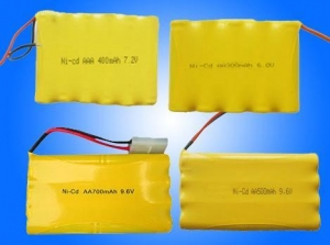 China Ni-CD rechargeable battery Ni-Cd Cylinderical Rechargeable Batteries on sale