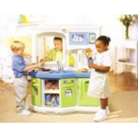 China Wood Kids Functional Play House Furniture Kitchen on sale