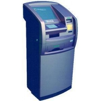 A3 Touchscreen payment kiosk for bank management system with trackball mouse, bank passbo