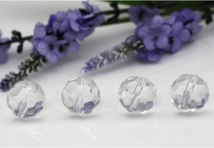 China Round beads, crystal bead for chandleiers-(KC1502) on sale