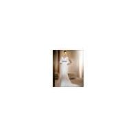 V-Neck Informal & Casual / Wedding Dress with Mid Back for Beach / Destination Wedding (3270DDZ)