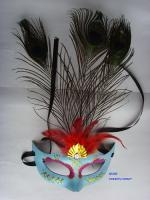 China Feather mask on sale