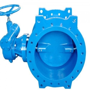 China Double Eccentric Double Flange Type Butterfly Valve (SVBF-0009) on sale