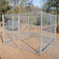 China Dog Kennels-Chain Link Fence on sale