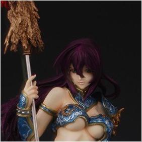 5dc49bf46d 1 4 Scale Ikktousen Anime Figure Kanu Untyou Blue Armor Sexy ver ...